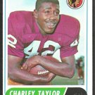 WASHINGTON REDSKINS CHARLEY TAYLOR 1968 TOPPS # 192 EX/EX MT
