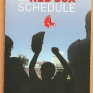 Boston Red Sox 2015 Pocket Schedule