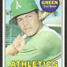 OAKLAND A's ATHLETICS DICK GREEN 1969 TOPPS # 515 EX/EM OC
