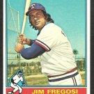 TEXAS RANGERS JIM FREGOSI 1976 TOPPS # 635