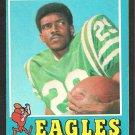 PHILADELPHIA EAGLES HAROLD JACKSON 1971 TOPPS # 215 VG