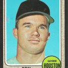 HOUSTON ASTROS RON BRAND 1968 TOPPS # 317 EX