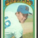 MILWAUKEE BREWERS JIM COLBORN 1972 TOPPS # 386 VG+