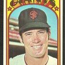 SAN FRANCISCO GIANTS FRAN HEALY 1972 TOPPS # 663 EX/EM