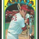 HOUSTON ASTROS JOHNNY EDWARDS 1972 TOPPS # 416 EX/EM