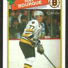 BOSTON BRUINS RAY BOURQUE 1988 OPC O PEE CHEE # 73 NR MT
