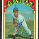 KANSAS CITY ROYALS TOM BURGMEIER 1972 TOPPS # 246 NR MT/MT OC