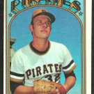 PITTSBURGH PIRATES BOB MILLER 1972 TOPPS # 414 VG/EX
