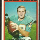 MIAMI DOLPHINS BOB GRIESE 1972 TOPPS # 80 G