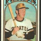 PITTSBURGH PIRATES BOB ROBERTSON 1972 TOPPS # 429 VG