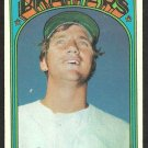 MILWAUKEE BREWERS KEN BRETT 1972 TOPPS # 517 VG