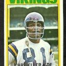 MINNESOTA VIKINGS CARL ELLER 1972 TOPPS # 20 EX