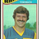 LOS ANGELES RAMS TOM MACK 1977 TOPPS # 265 EX