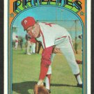 PHILADELPHIA PHILLIES DERON JOHNSON 1972 TOPPS #167 VG+/EX