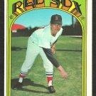 BOSTON RED SOX RAY CULP 1972 TOPPS # 2 EX MT