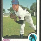 NEW YORK METS JERRY KOOSMAN 1973 TOPPS # 184 VG
