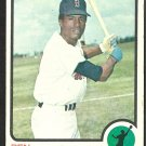 BOSTON RED SOX BEN OGLIVIE 1973 TOPPS # 388 VG