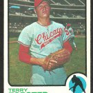 CHICAGO WHITE SOX TERRY FORSTER 1973 TOPPS # 129 EX