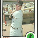 SAN FRANCISCO GIANTS JIMMY HOWARTH 1973 TOPPS # 459