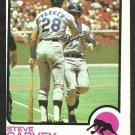 LOS ANGELES DODGERS STEVE GARVEY 1973 TOPPS # 213 VG