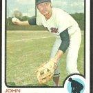 BOSTON RED SOX JOHN KENNEDY 1973 TOPPS # 437 NR MT