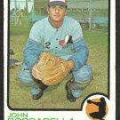 MONTREAL EXPOS JOHN BOCCABELLA 1973 TOPPS # 592 VG/EX
