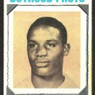 San Diego Chargers Mike Garrett Boyhood Photo 1973 Topps Football Card # 267 vg