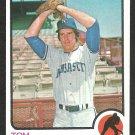 Kansas City Royals Tom Murphy 1973 Topps Baseball Card 539 nr mt