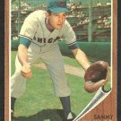 Chicago Cubs Sammy Taylor 1962 Topps Baseball Card 274 ex/em