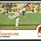 TEXAS RANGERS DON STANHOUSE 1973 TOPPS # 352 VG