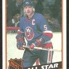 1984 Topps Hockey Card # 162 New York Islanders Denis Potvin All Star nr mt