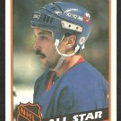 1984 Topps Hockey Card # 160 New York Islanders Bryan Trottier All Star nr mt