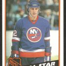 1984 Topps Hockey Card # 155 New York Islanders Mike Bossy All Star nr mt