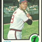 CALIFORNIA ANGELS VADA PINSON 1973 TOPPS # 75 VG