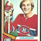 MONTREAL CANADIENS GUY LAFLEUR 1974 TOPPS # 232