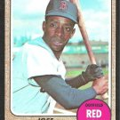 BOSTON RED SOX JOSE TARTABULL 1968 TOPPS # 555 NR MT