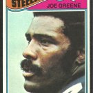 PITTSBURGH STEELERS MEAN JOE GREENE 1977 TOPPS # 405 EM/NM