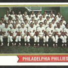 PHILADELPHIA PHILLIES TEAM CARD 1974 TOPPS # 383 VG+/EX