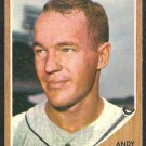 LOS ANGELES DODGERS ANDY CAREY 1962 TOPPS # 418 EX+