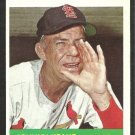 ST LOUIS CARDINALS JOHNNY KEANE 1964 TOPPS # 413 NR MT