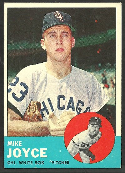 CHICAGO WHITE SOX MIKE JOYCE 1963 TOPPS # 66 EX