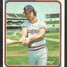 TEXAS RANGERS JIM FREGOSI 1974 TOPPS # 196 EX