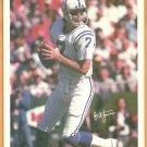 BALTIMORE COLTS BERT JONES 1981 MARKETCOM POSTER CARD #14