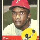 PHILADELPHIA PHILLIES TONY GONZALEZ 1963 TOPPS # 32 good