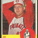 CINCINNATI REDS JIM BROSNAN 1963 TOPPS # 116 good