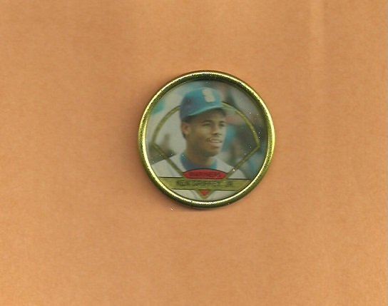 Seattle Mariners Ken Griffey 1990 Topps Coin # 16