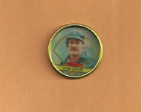 Boston Red Sox Wade Boggs 1990 Topps Coin # 6