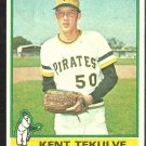 1976 Topps Baseball Card # 112 Pittsburgh Pirates Kent Tekulve Rookie Card RC good