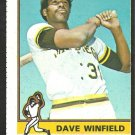 1976 Topps Baseball Card # 160 San Diego Padres Dave Winfield ex oc
