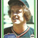 1981 Topps Baseball Card # 286 California Angels Dave Frost nr mt